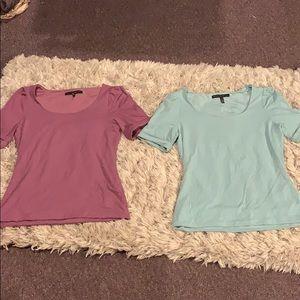 (x2) tee shirts 👚